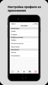 Приложение Интернет Бизби для iOS